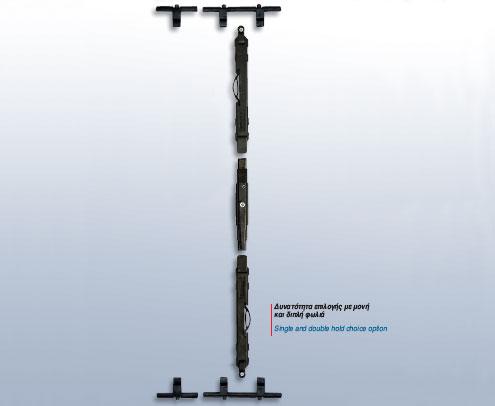 Μηχανικός Σύρτης δίφυλλου μεταλλικού Σ-Δ-Μ-1020
